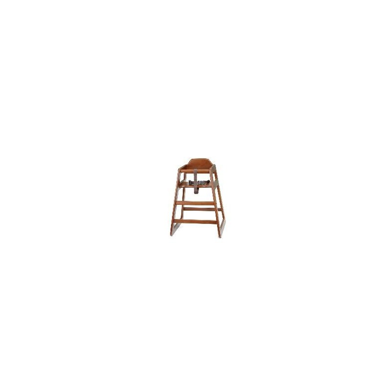 4 tronas para restaurante de madera modelo 66