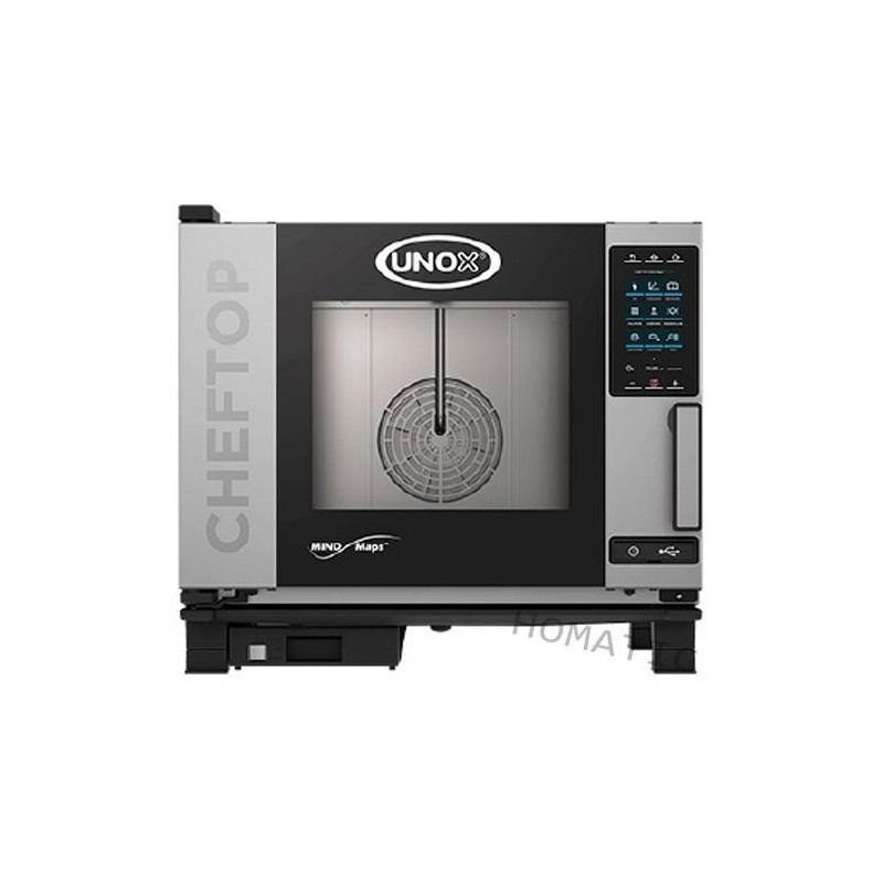 Horno a gas mixto 5 GN 1/1 Cheftop Mind Plus de Unox