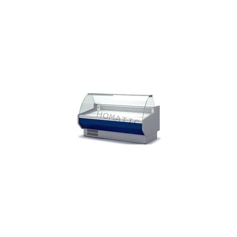 Vitrina Refrigerada SIN RESERVA Cristal Curvo Fondo 940 de 2525 x800 x1230h mm CORDOBA VEDS925C