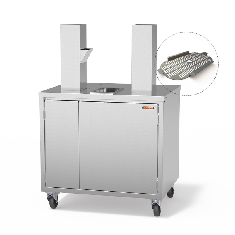 Mueble Cabinet Plus G + tapa para Z40 Nature Accesorios Zummo