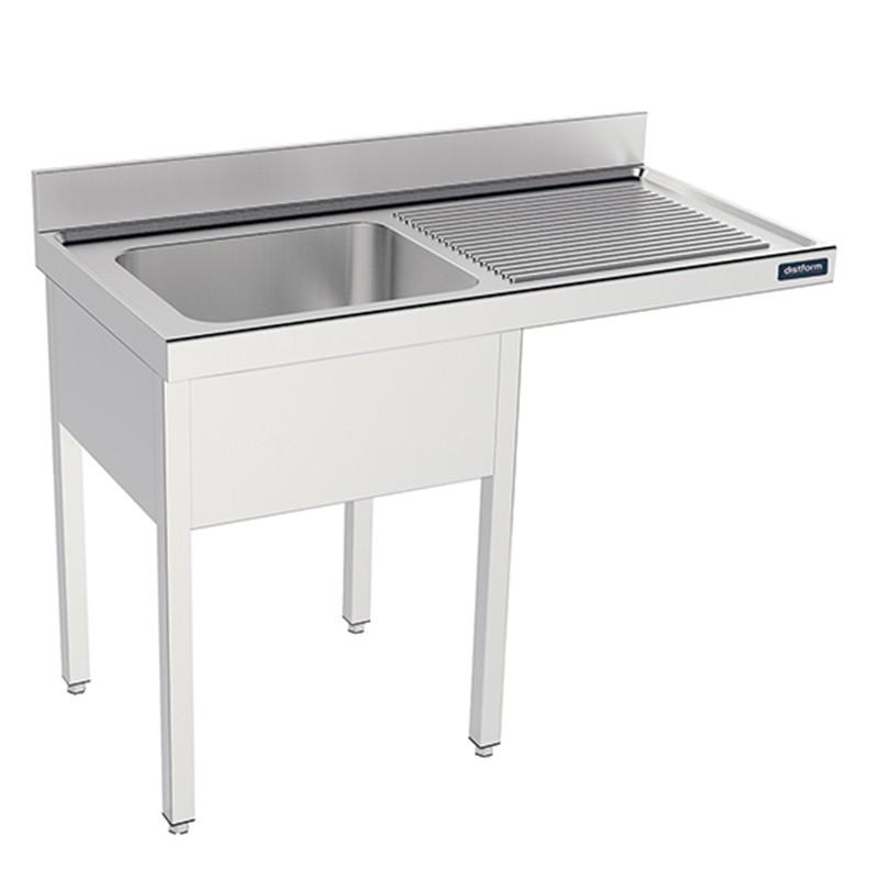 Fregadero con bastidor y espacio lavavajillas Gama 600 Distform