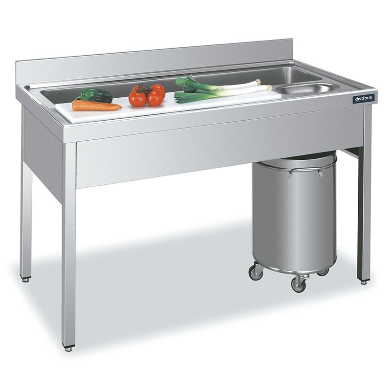 Mesa para preparación de alimentos Gama 700 Distform