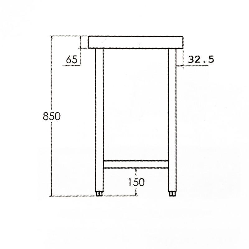 Mesa con puertas Gama 600 Distform