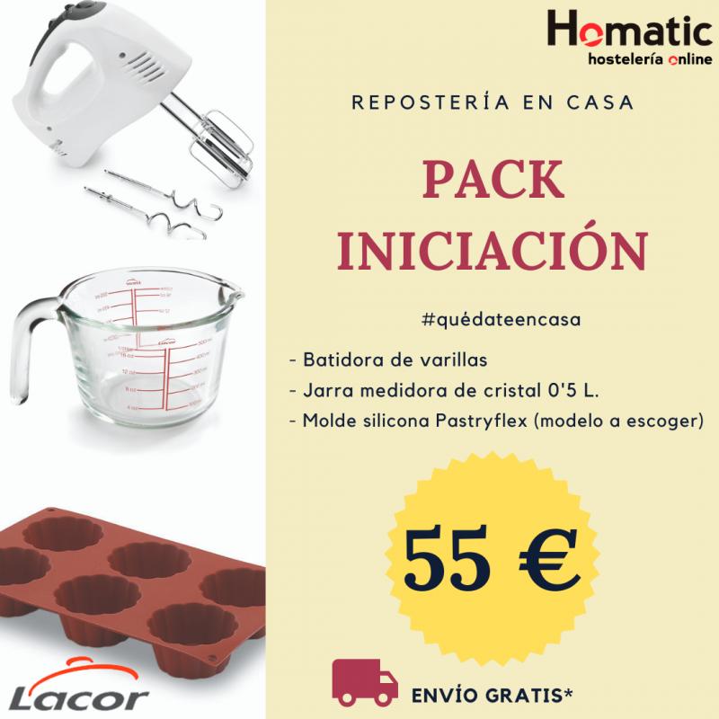 Pack iniciación repostería Lacor