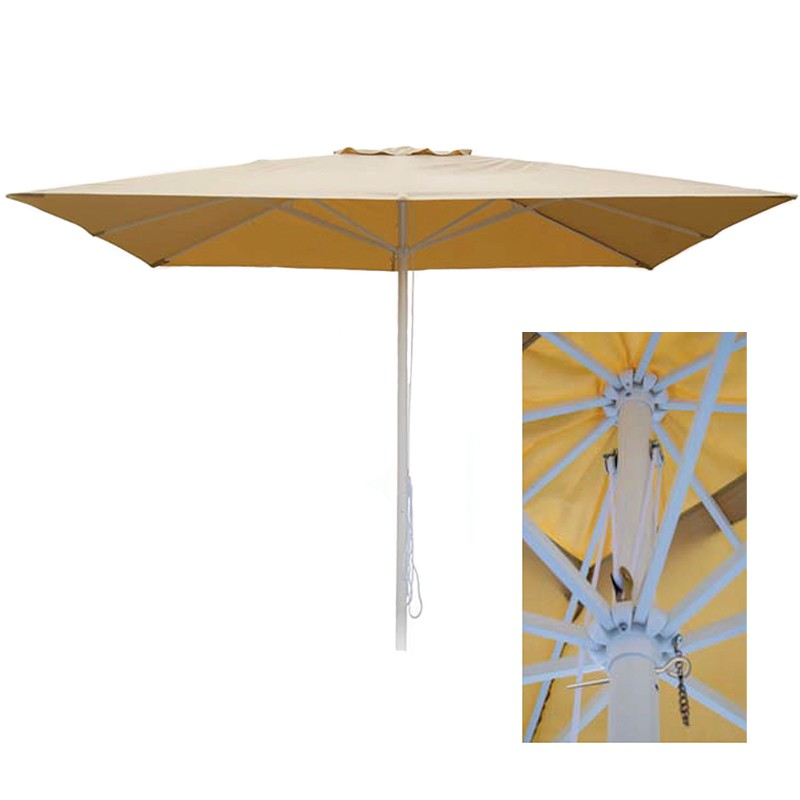Parasol aluminio 2x3 m. Contract Basic Conva