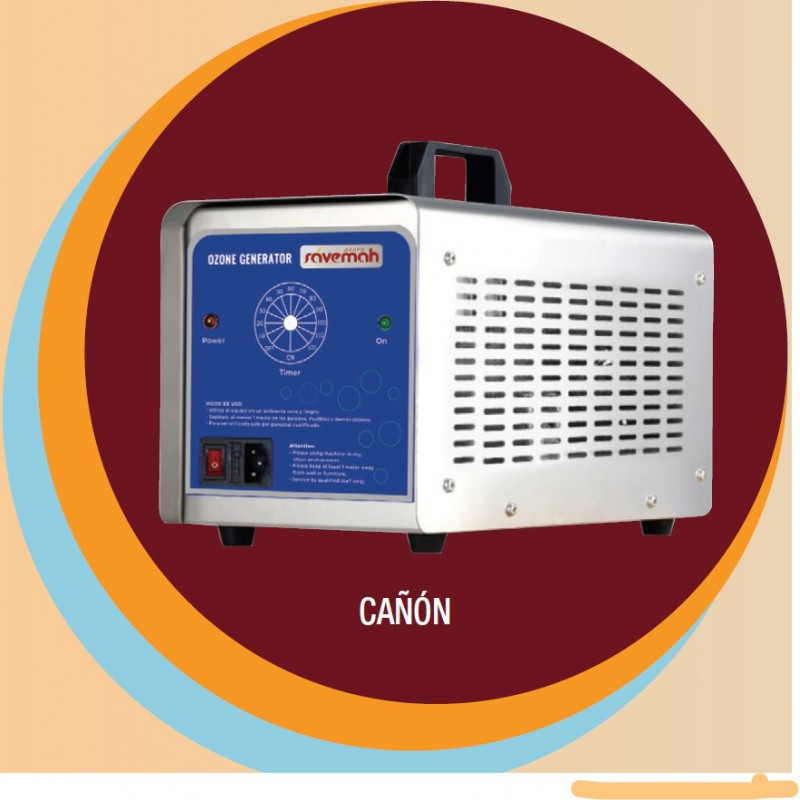 Cañón generador de ozono Savemah