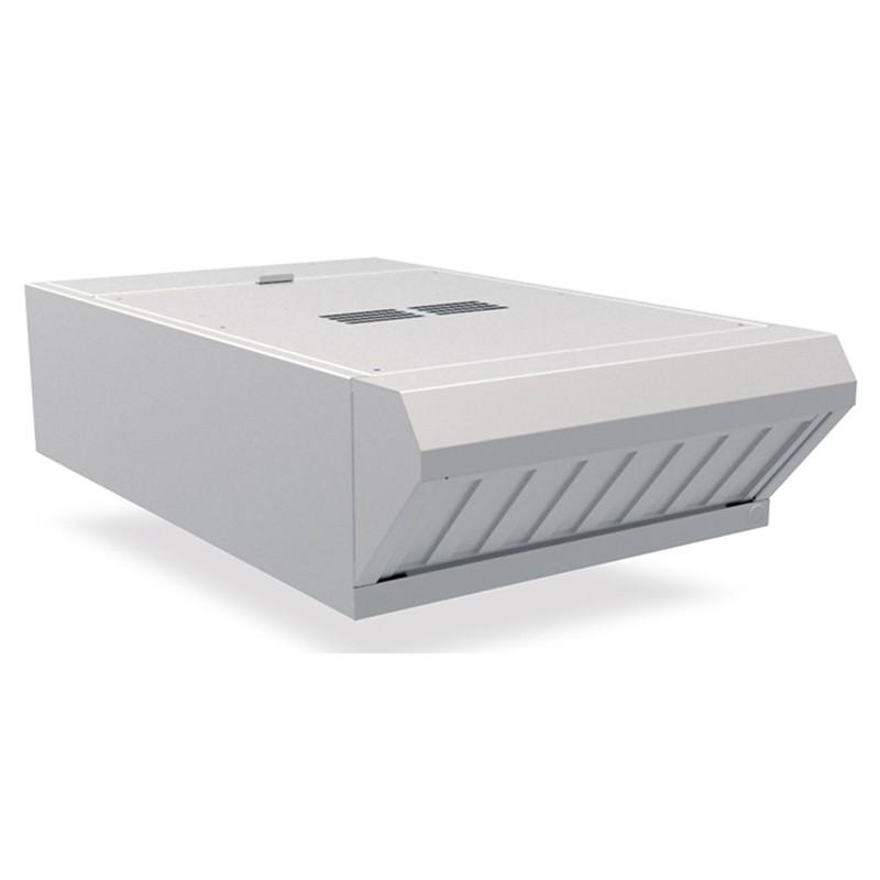 Campana de condensación frontal de vapor y olores con filtro de carbono para hornos Mychef