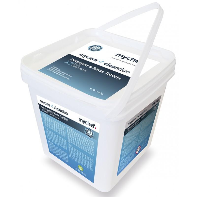 Pastillas de detergente CleanDuo lavado automático para hornos MyChef