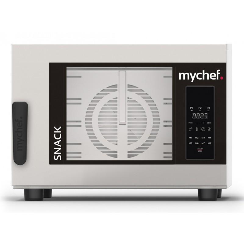 Horno de Convección con Humedad Regulable Gastronorm Snack Mychef