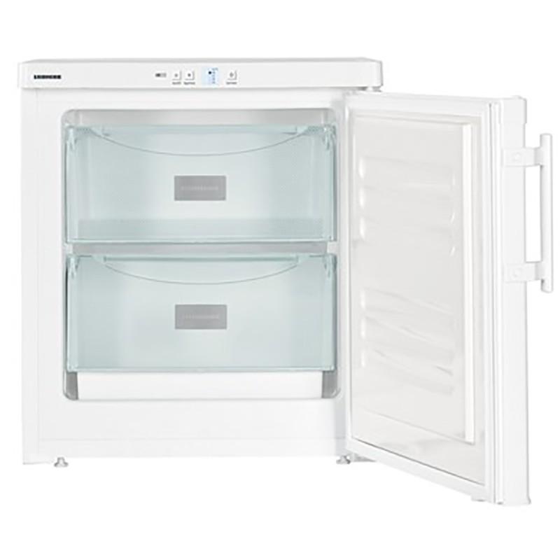 Congelador vertical estático blanco bajo mostrador con cajones Liebherr