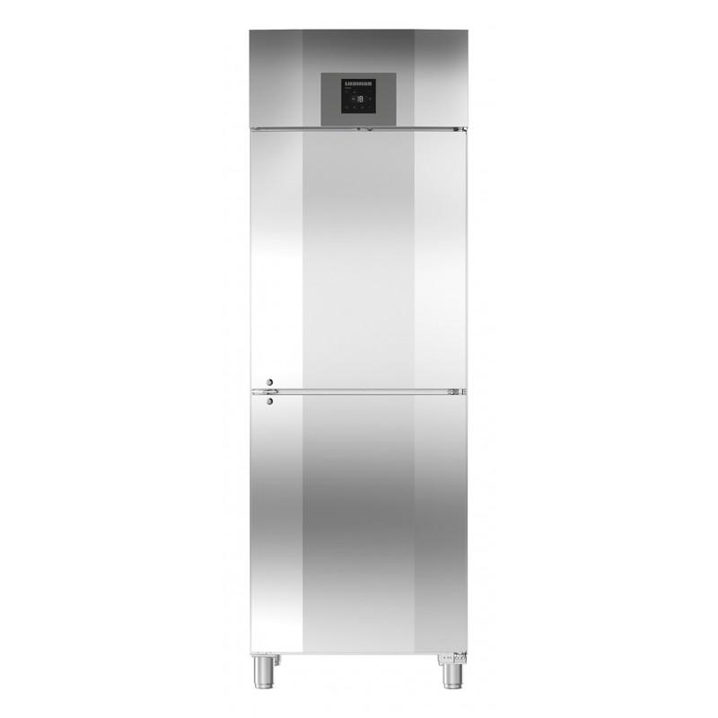 Congelador vertical ventilado inox GN 2/1 GGPv Liebherr