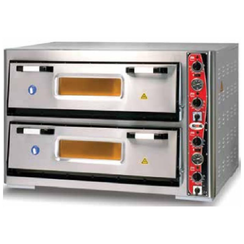 Horno eléctrico GMG 6+6 pizzas 30 cms