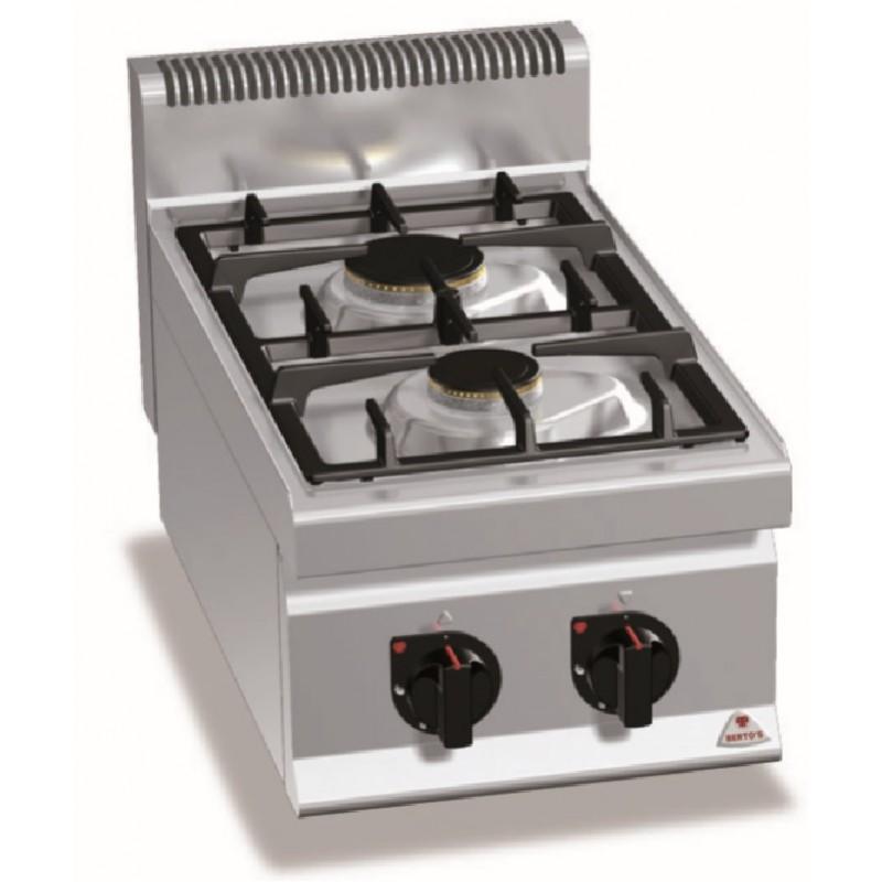Cocinas 2 fuegos a gas serie high power Macros 700 Bertos