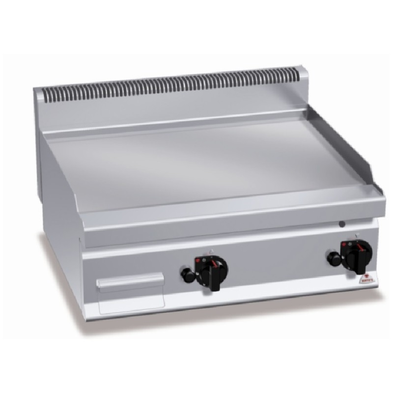 FryTop serie hard chrome 800 Plus 600 Bertos
