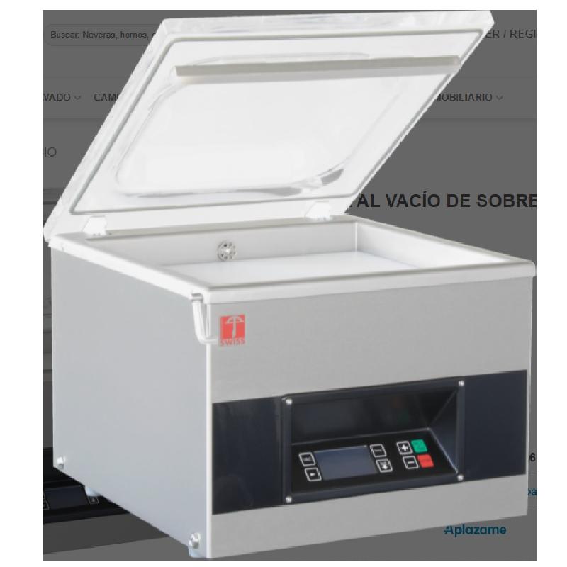 Envasadoras al Vacío de sobremesa controlado por sensor VAC-STAR