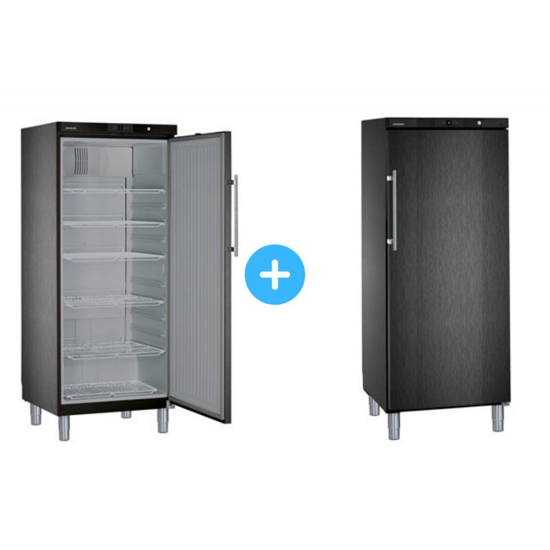 """Conjunto """"side by side"""" Armario frigorífico GKvbs 5760 + Congelador GGvbs 5060 Liebherr"""