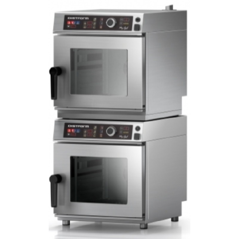 Kit de Apilado + 2 Kits de Primera Instalación para 2 hornos Cook Mychef
