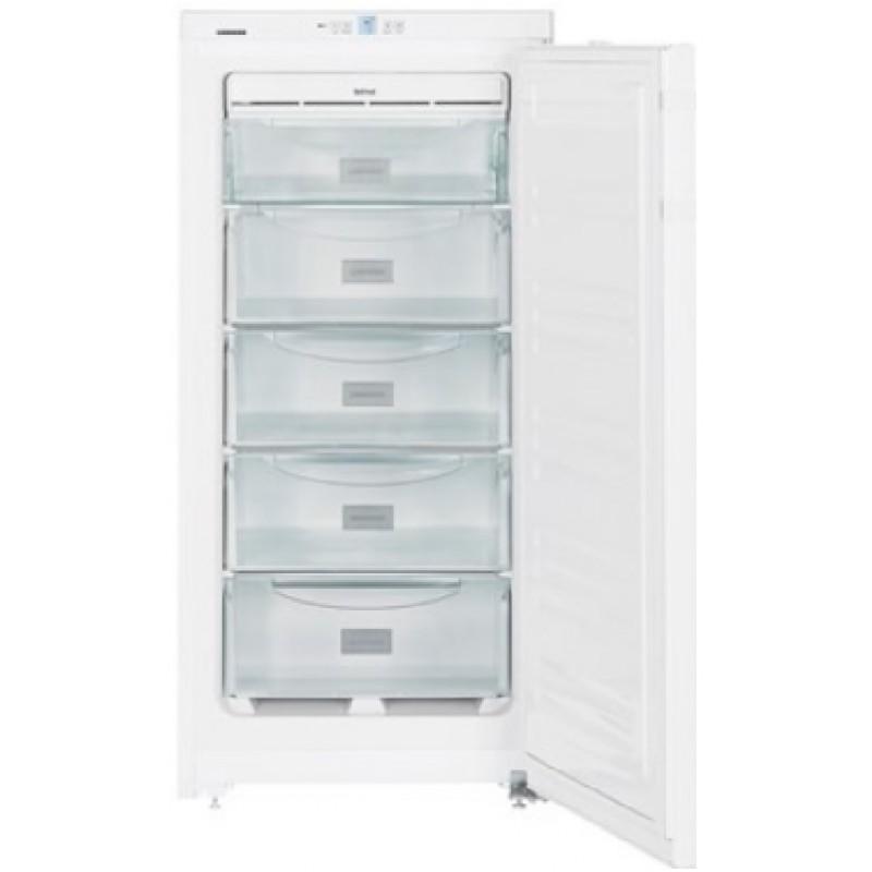 Congelador ventilado no frost vertical blanco con cajones A++ Liebherr