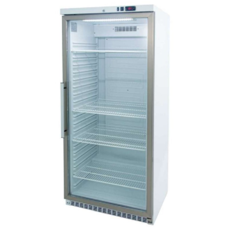 Armario GN2/1 refrigerado expositor 600 litros línea córdoba Clima Hostelería