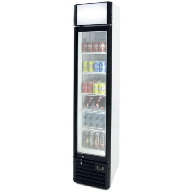 Armario exporitor congelados 160 litros slim line línea pekín Clima Hostelería