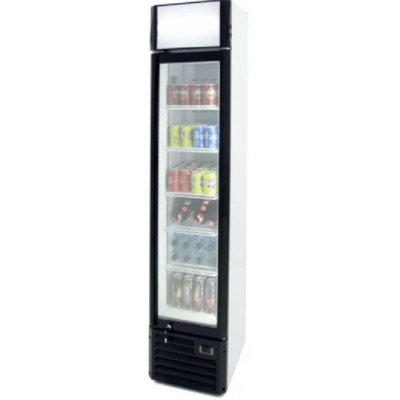 Armario expositor refrigerado 160 litros slim line línea pekín Clima Hostelería