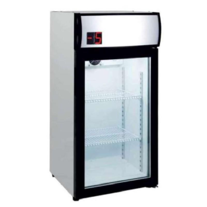 Expositor refrigerado 80 litros sobremesa línea pekín Clima Hostelería