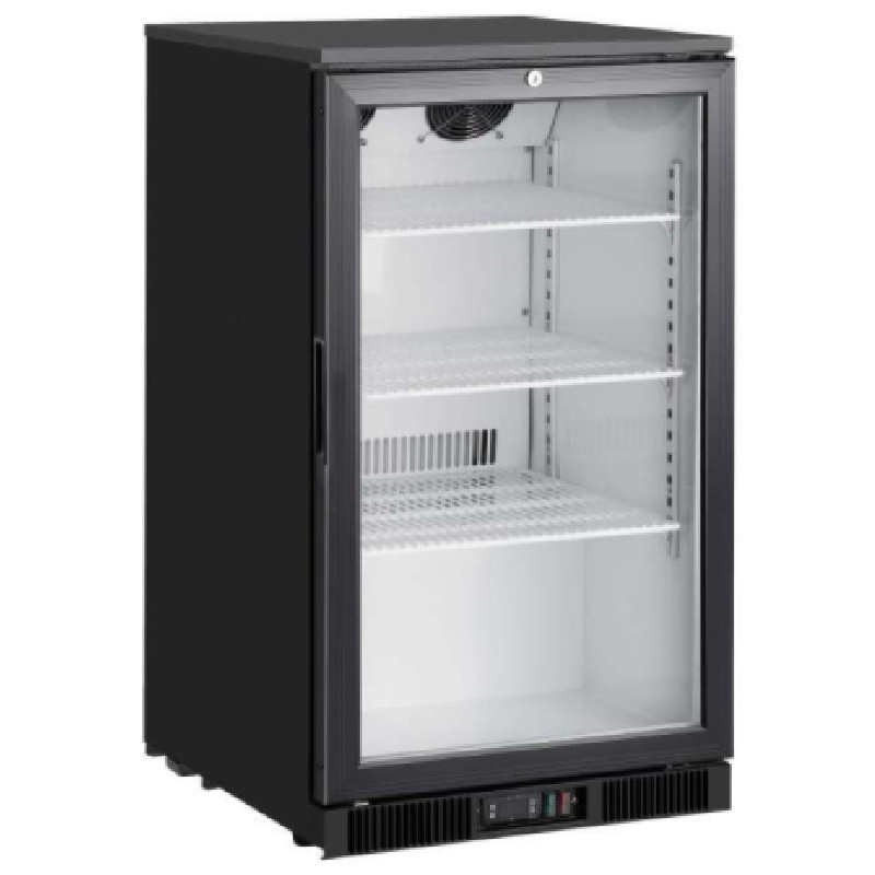 Expositor congelados 150 litros sobremesa con frío ventilado línea pekín Clima Hostelería