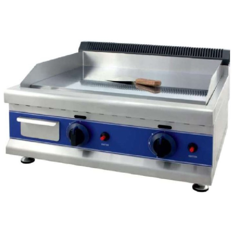 Frytops a gas acero rectificado de 12 mm línea pekín Clima Hostelería