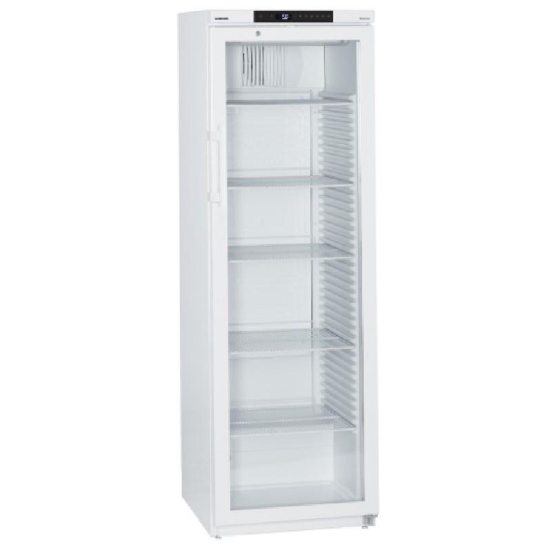 Armario expositor refrigerado blanco para farmacia Mediline Liebherr