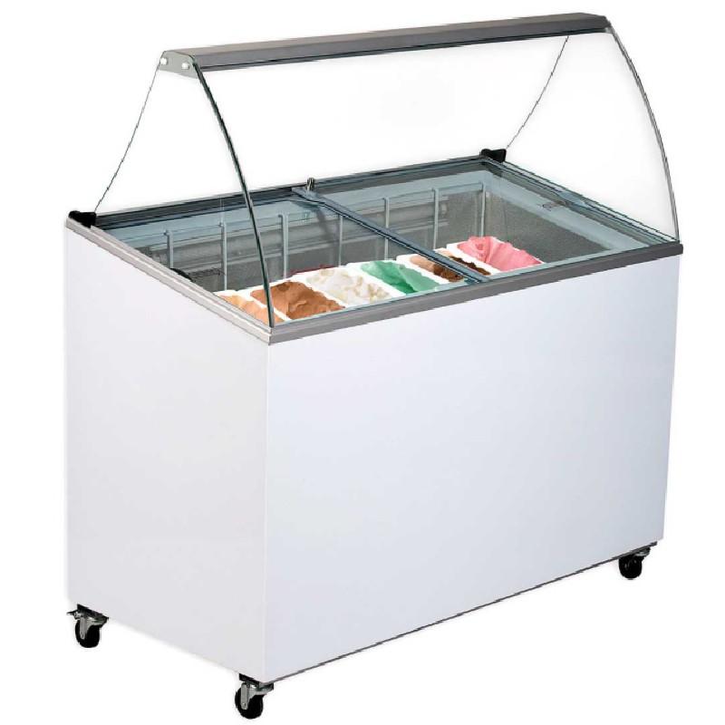 Arcones congeladores expositores para helados serie VG  Difriho