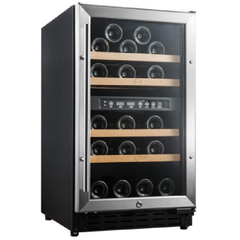 Armario vinoteca encastrable 2 temperaturas  40 botellas Vinobox