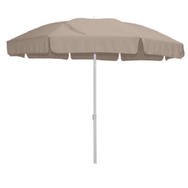 Pack 6 parasoles aluminio blanco ø2m Contract Basic Conva