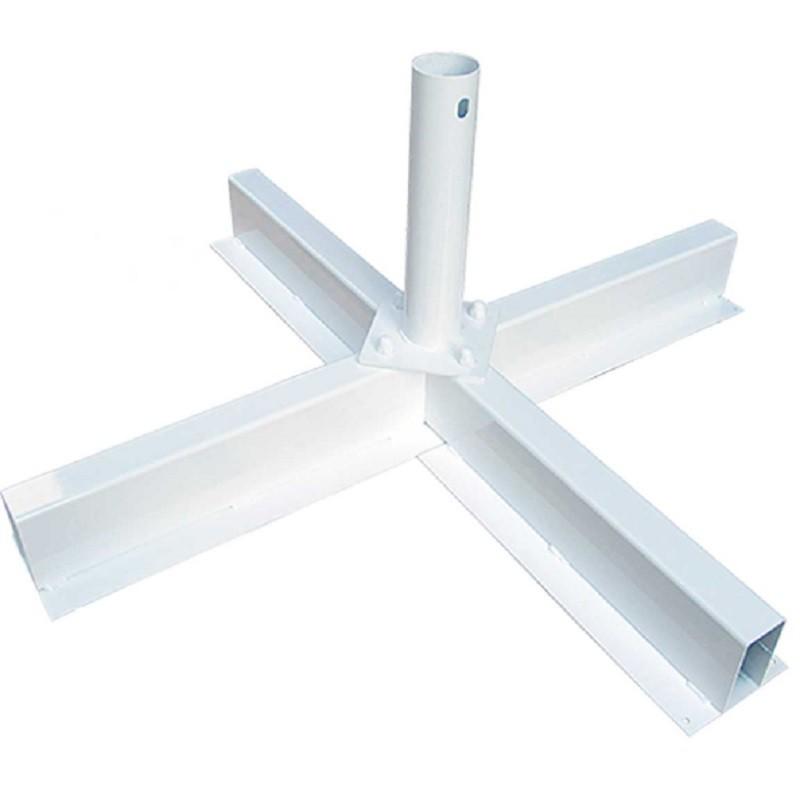 Bases metálicas para parasoles Conva