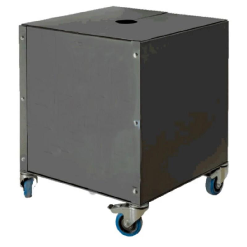 Macetero cajón metálico Conva