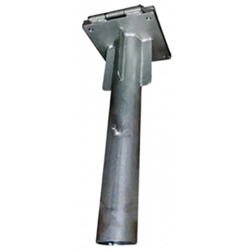 Base galvanizada empotrable para parasol giant Conva