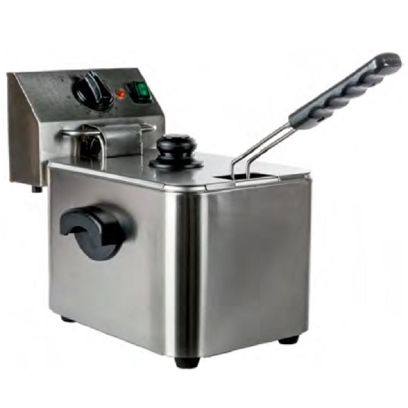 Freidora eléctrica 4 litros sin grifo Distriplus