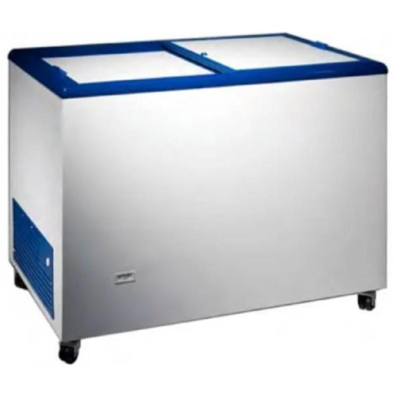 Arcón congelador expositor tapas correderas para espacios reducidos - Masquefrío