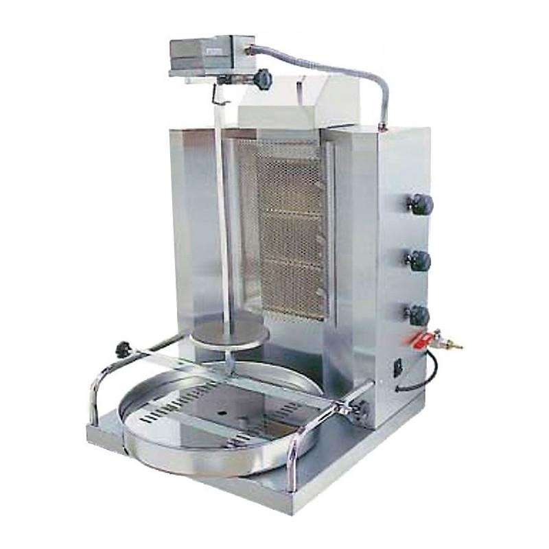 Asador Gyros/shawarma/doner kebab a gas motor superior SH3 VS