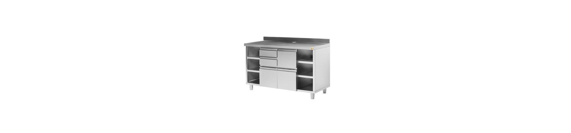 Muebles cafeteros de gran calidad fabricados en acero inoxidable AISI 304 18/10. Compra hoy con garantía.