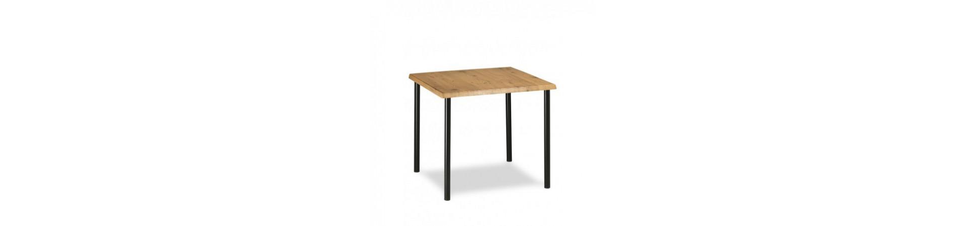 Mesas para interiores y también para exteriores online con garantía y envío rápido.