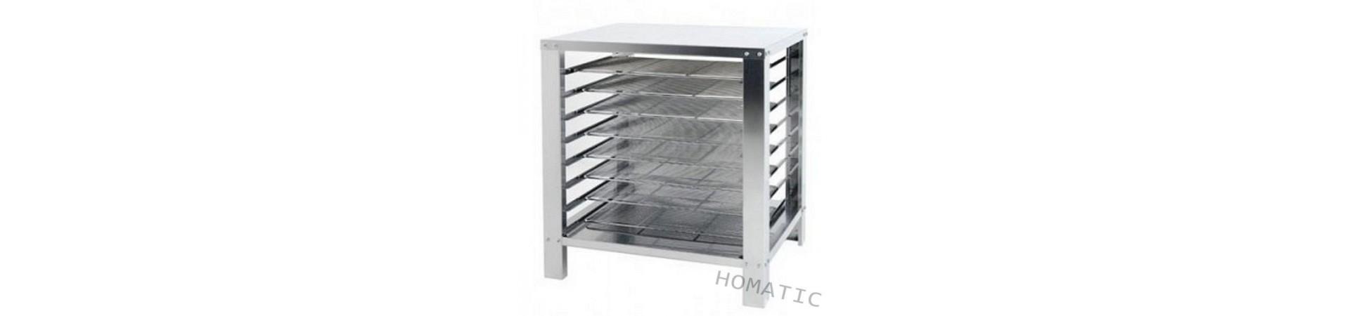 Muebles soportes para hornos de gran calidad fabricados en acero inoxidable AISI 304 18/10. Compra hoy con garantía.